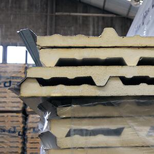 panel aislante para techo galvatecho
