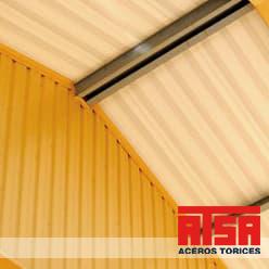 Glamet panel para techos y cubiertas