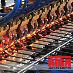 Malla construida por proceso de electrosoldado